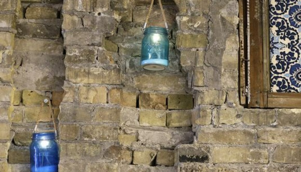 Amilinda Candle Wall Detail